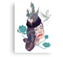 Friday Lady Canvas Print