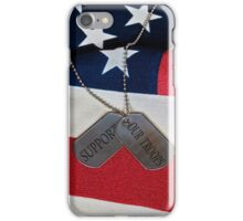 Patriotic  Dog Tags (iPhone case) iPhone Case/Skin