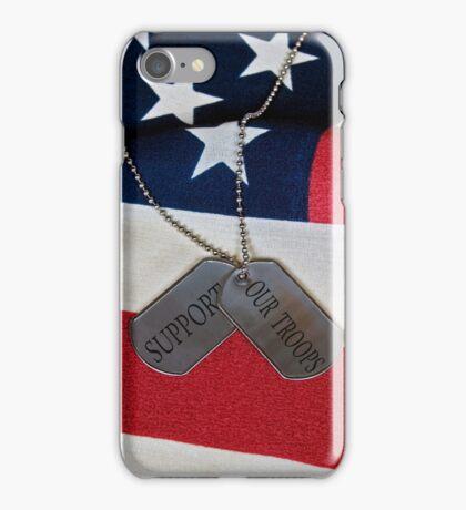 Patriotic  Dog Tags (iPhone case) iPhone Case/Skin