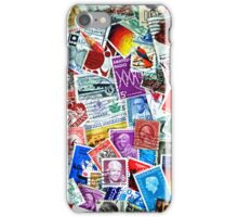 Stamp Collection (iPhone case) iPhone Case/Skin