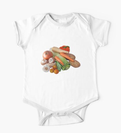 Fresh Vegetable Selection One Piece - Short Sleeve