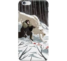 Jon Snow and Ghost iPhone case iPhone Case/Skin