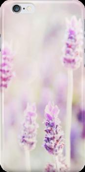 Mauve iphone cover by Carol Knudsen