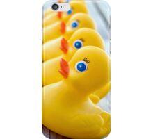 Ducks In A Row (iPhone case) iPhone Case/Skin