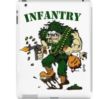 Infantry grunt ground isis iPad Case/Skin