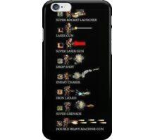 Metal Slug guns compilation iPhone Case/Skin