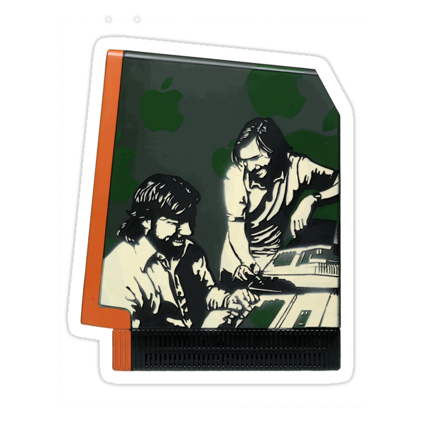 Steve Jobs & Steve Wozniak by Satta van Daal