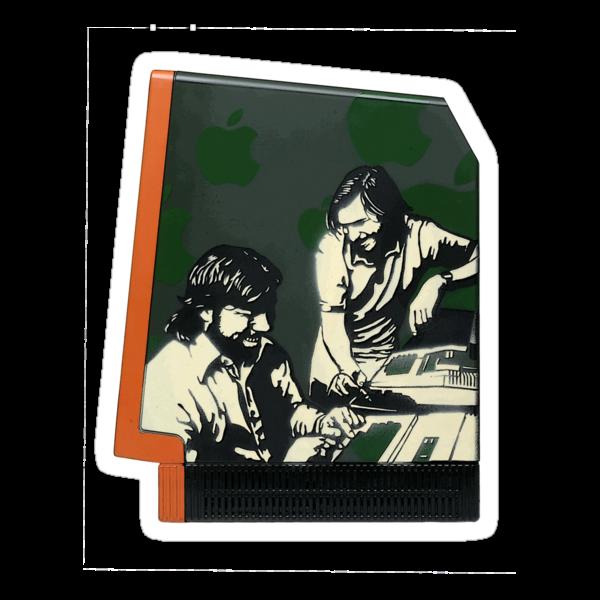 Steve Jobs & Steve Wozniak by Satta van Daal