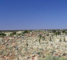 Uluru from afar by ikor