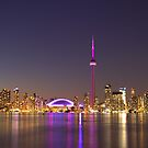 CN Tower Turned Pink For Breast Cancer Month &quot;IN HONOR&quot; by NewfieKeith