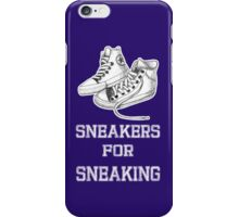 sneakers for sneaking iPhone Case/Skin