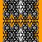 Orange tech pattern by Cranemann