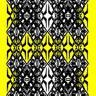Yellow tech pattern by Cranemann