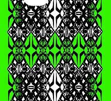 Green tech pattern by Cranemann