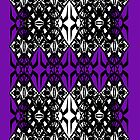 Purple tech pattern by Cranemann