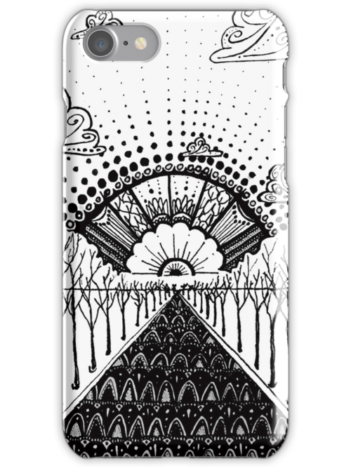 iPhone Ink-Scape by eleveneleven