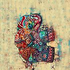 vintage elephant iPhone iPod iPad cases  by © Karin  Taylor