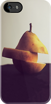Pear iPhone Case by Josh Marten