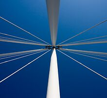 Golden Jubilee Bridge - London by Peter Martin