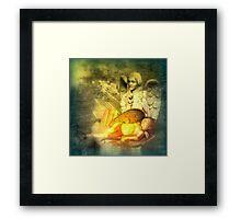 Angel of Slumber Framed Print