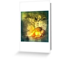 Angel of Slumber Greeting Card