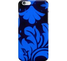 gothika/blue - phone iPhone Case/Skin