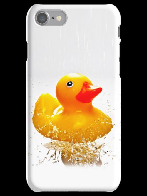 Duck! - iphone case by BlueShift
