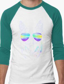 Cool music cat Men's Baseball ¾ T-Shirt