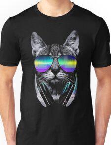 Cool music cat Unisex T-Shirt