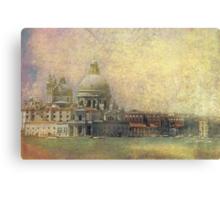 Venice Punta Dogana e Madonna della salute Canvas Print
