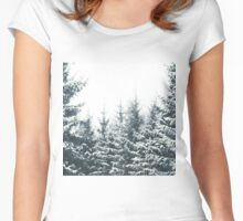 In Winter Women's Fitted Scoop T-Shirt