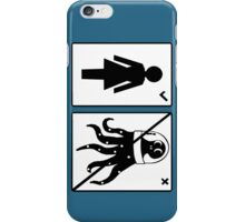 Sorry, I only date humanoids (female) iPhone Case/Skin