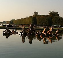 Versailles water 2 by Dominique Meynier