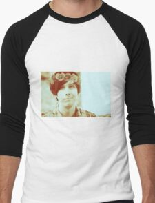 Phil Lester Flower Crown  Men's Baseball ¾ T-Shirt