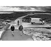 Walking to St. Mary's Photographic Print