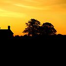 """""""FARMHOUSE SILHOUETTE"""" by snapitnc"""