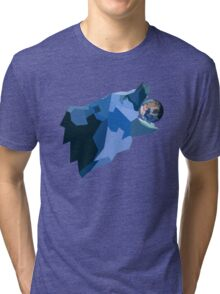 Space Bear beats Galactus Tri-blend T-Shirt