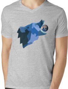 Space Bear beats Galactus Mens V-Neck T-Shirt
