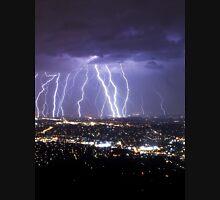 Mt Dandenong Lightning V2 Uncropped.  Unisex T-Shirt