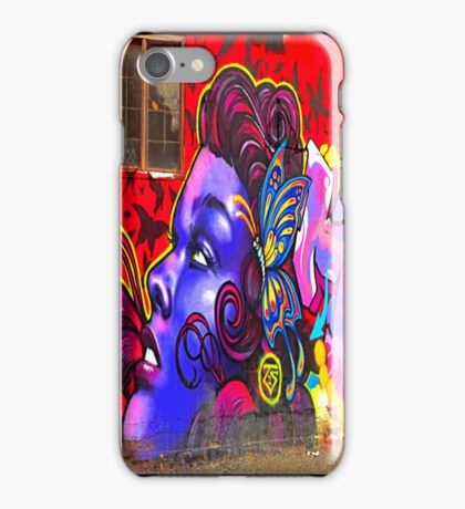 """Butterfly Girl"" - phone iPhone Case/Skin"