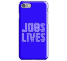 Jobs Lives iPhone Case/Skin
