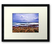 Hawley Surf, Canon IXUS 50 Framed Print