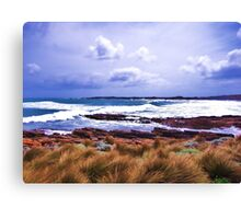 Hawley Surf, Canon IXUS 50 Canvas Print