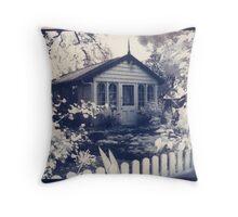 Garden studio - Montsalvat Throw Pillow