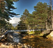 The Cairngorm Club Footbridge by Jamie  Green