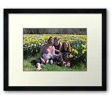 In The Field Of Gold Framed Print