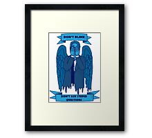 Weeping Angel of The Lord Framed Print