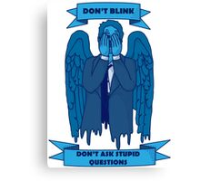 Weeping Angel of The Lord Canvas Print