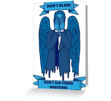 Weeping Angel of The Lord Greeting Card