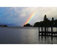 Rainbow over Windermere Photographic Print